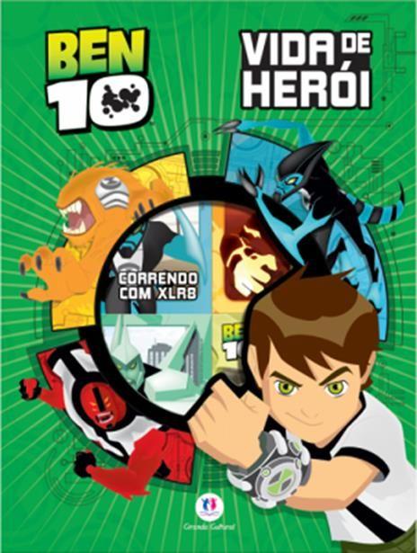 Box Ben 10: Vida De Herói - 6 Volumes