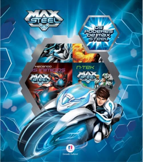 Box Max Steel - 6 Volumes