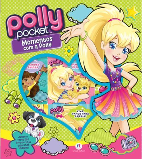 Box Polly Pocket: Momentos Com a Polly - 9 Volumes