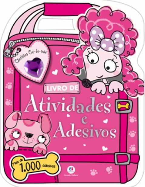 Cãezinhos Cor-de-rosa: Mais de 1.000 Adesivos - Coleção Adesivos