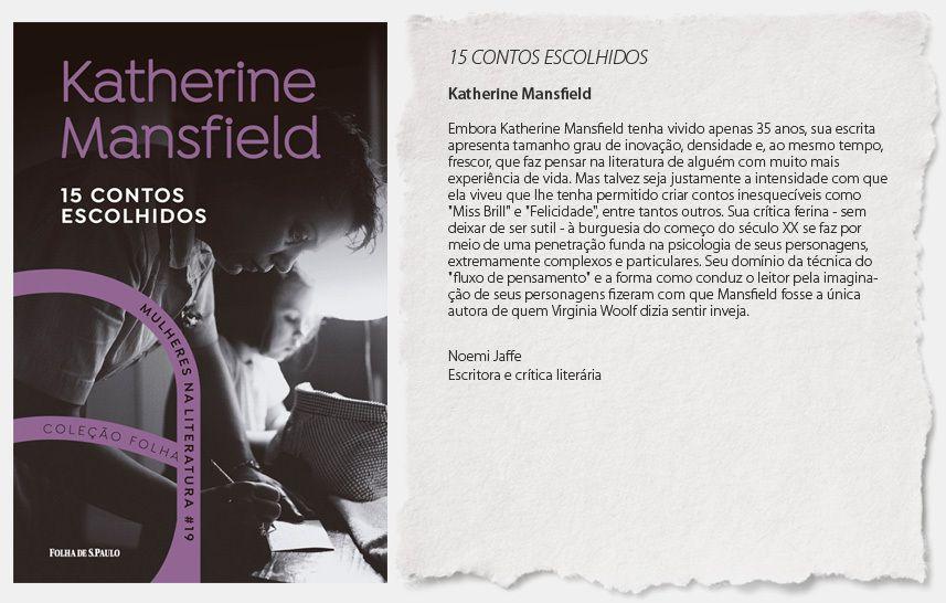 COLEÇÃO FOLHA  MULHERES NA LITERATURA