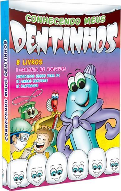 CONHECENDO MEUS DENTINHOS 8 VOLUMES