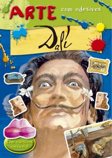 Dalí - Coleção Arte com Adesivos - Com Adesivos Incríveis
