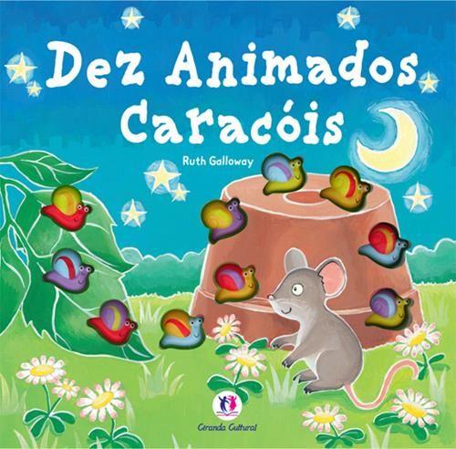Dez Animados Caracóis - Pop-up