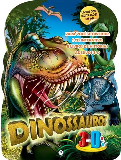 Maleta Dinossauros 3d