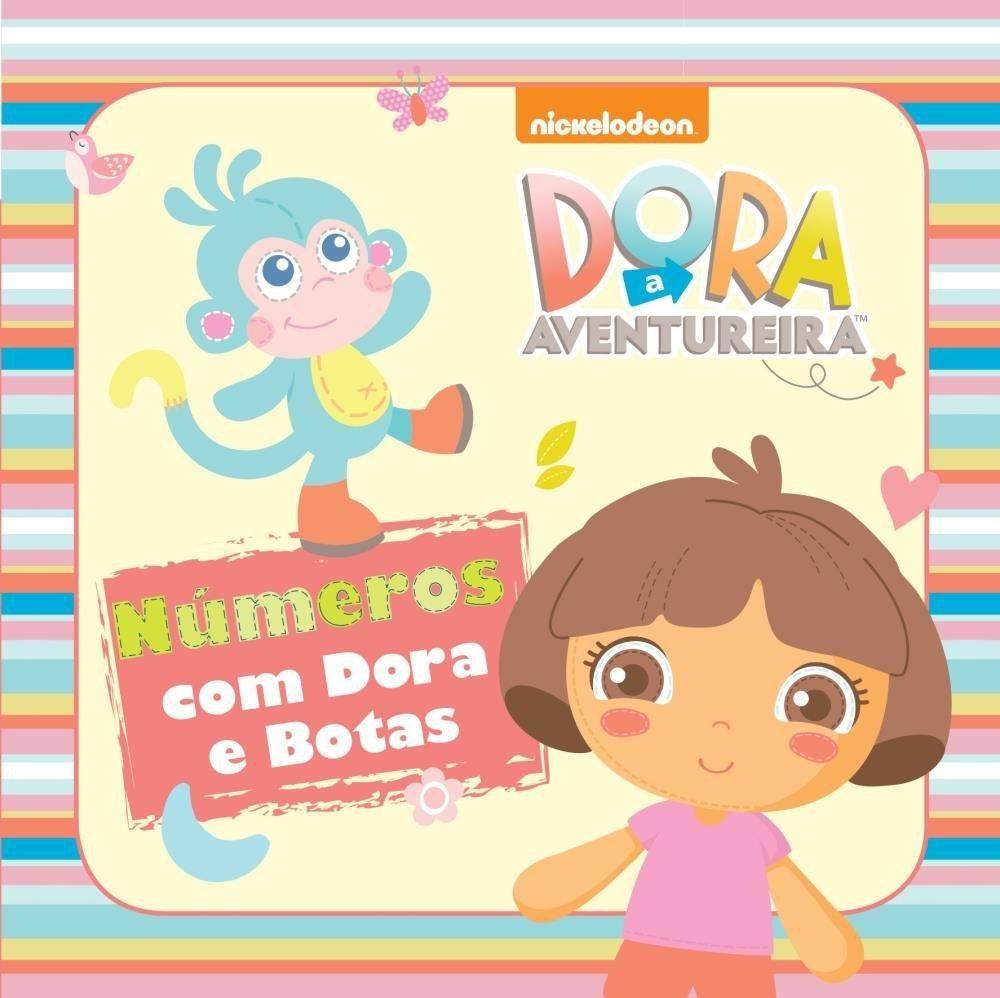 DORA BABY- NÚMEROS COM DORAS E BOTAS