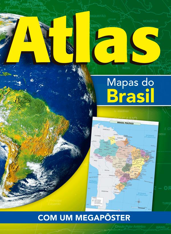ATLAS- MAPAS DO BRASIL: MAPA DO BRASIL