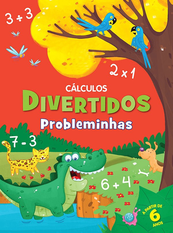 CÁLCULOS DIVERTIDOS- PROBLEMINHAS