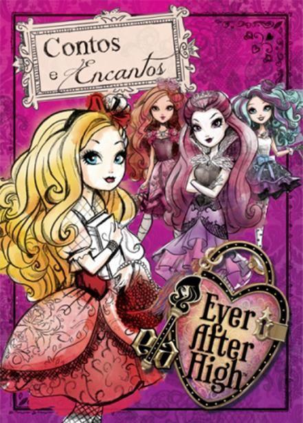 Ever After High: Desenhe Sonhe Crie - Livro de Desenhos