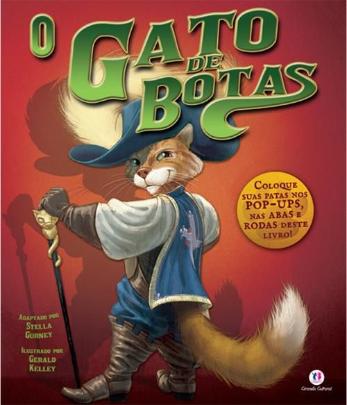 Gato de Botas, O - Livro Pop-up