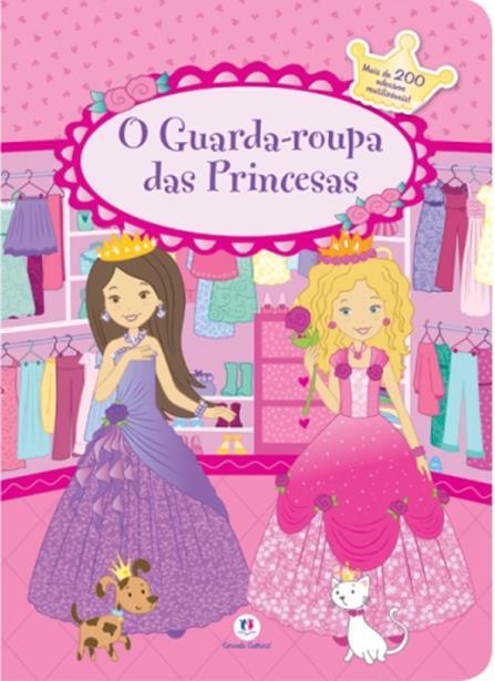 Guarda-roupa das Princesas, O - Livro Capa Almofadada
