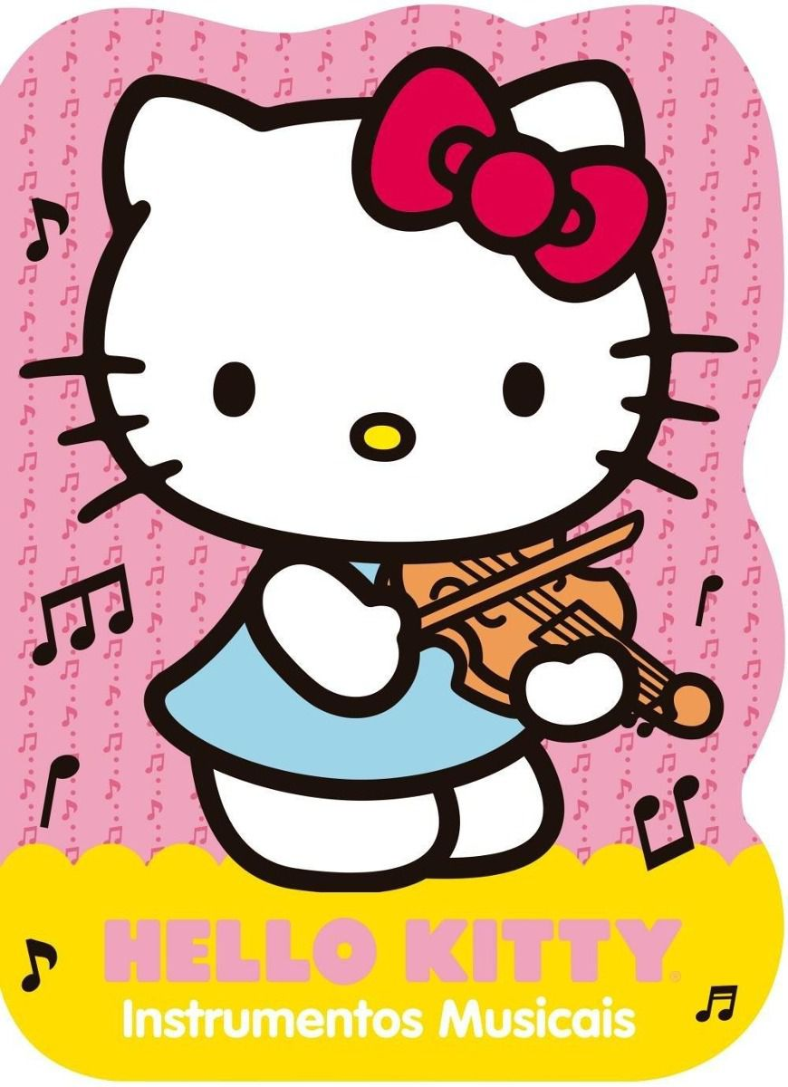 HELLO KITTY- INSTRUMENTOS MUSICAIS