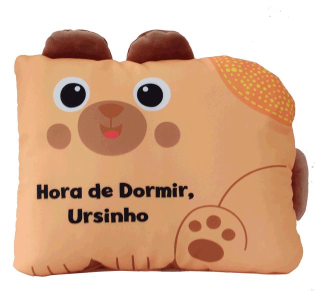 LIVRO DE PANO HORA DE DORMIR URSINHO