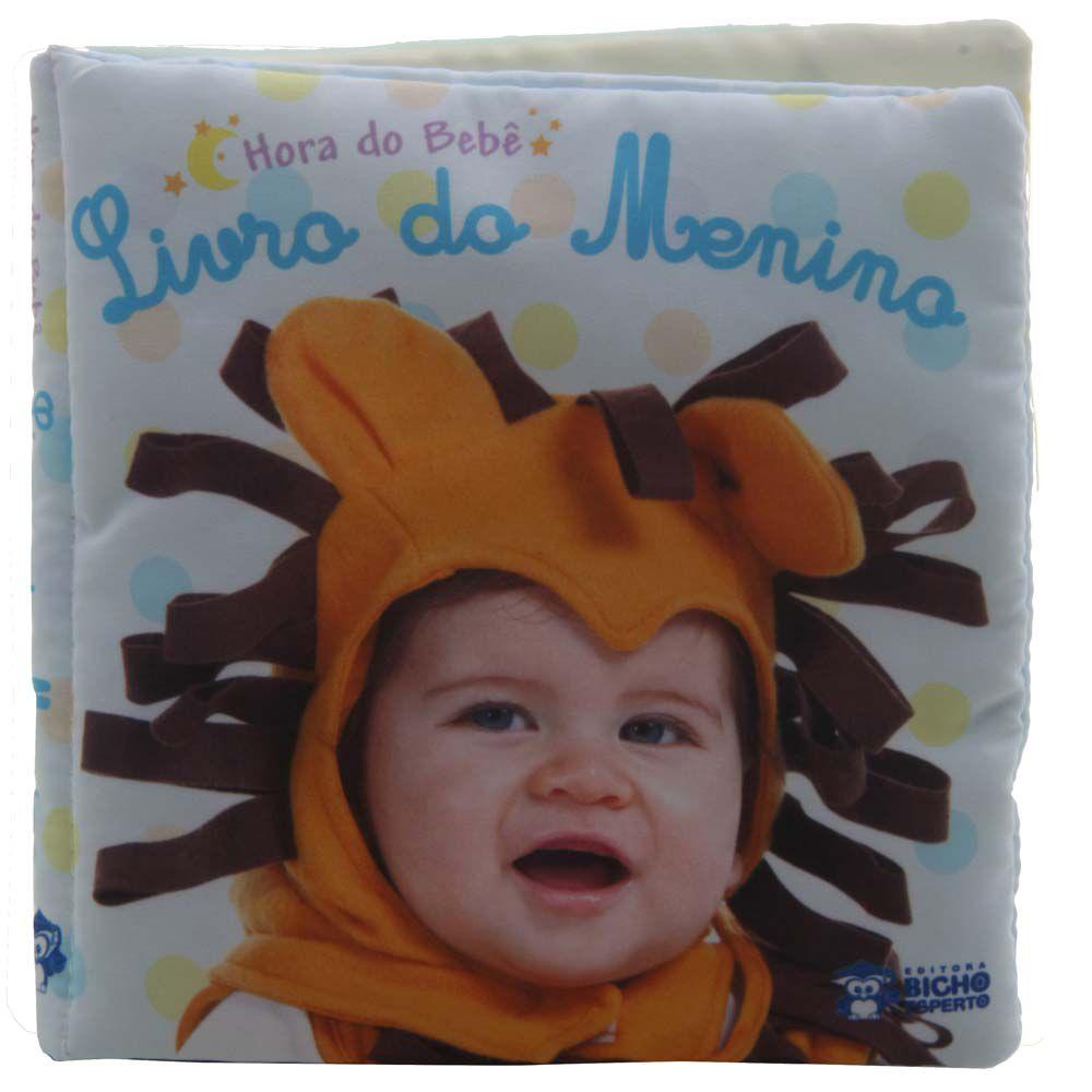 LIVRO DE PANO HORA DO BEBÊ- LIVRO DO MENINO