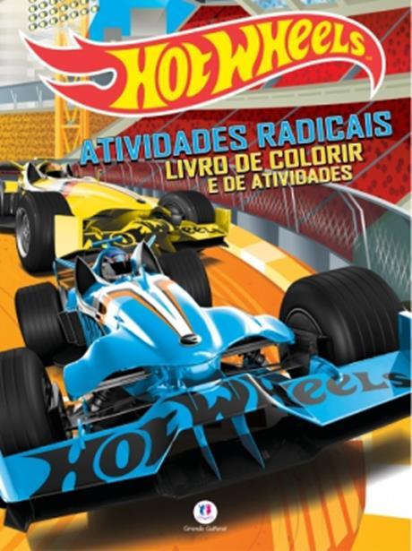 Hot Wheels: Atividades Radicais - Livro de Atividades Para Colorir