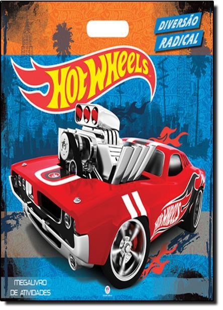 Hot Wheels: Diversão Radical - Megalivro de Atividades