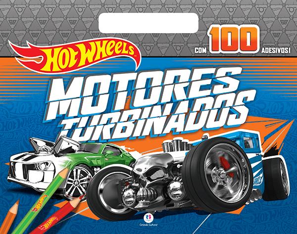 HOT WHEELS- MOTORES TURBINADOS