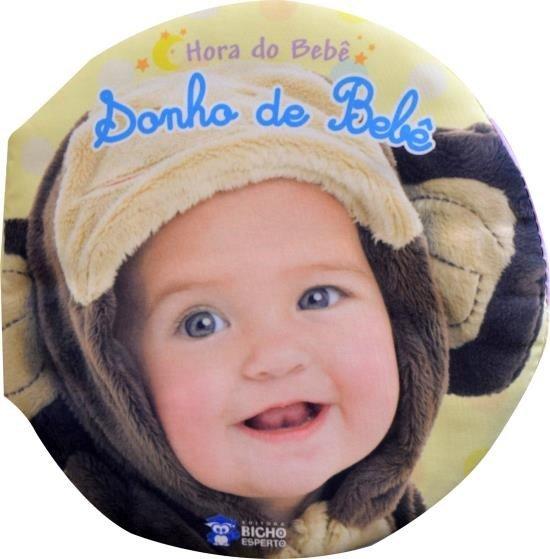 LIVRO DE PANO HORA DO BEBE - SONHO DE BEBE