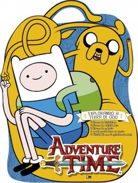 Maleta Adventure Time: Explorando a Terra de Ooo - Maleta de Atividades