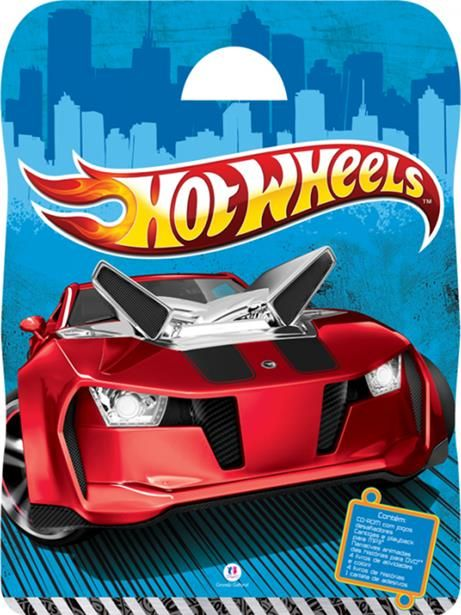 Maleta Hot Wheels