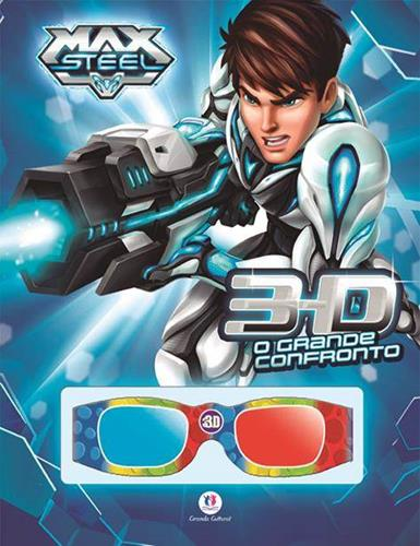 Max Steel: O Grande Confronto - Livro 3d