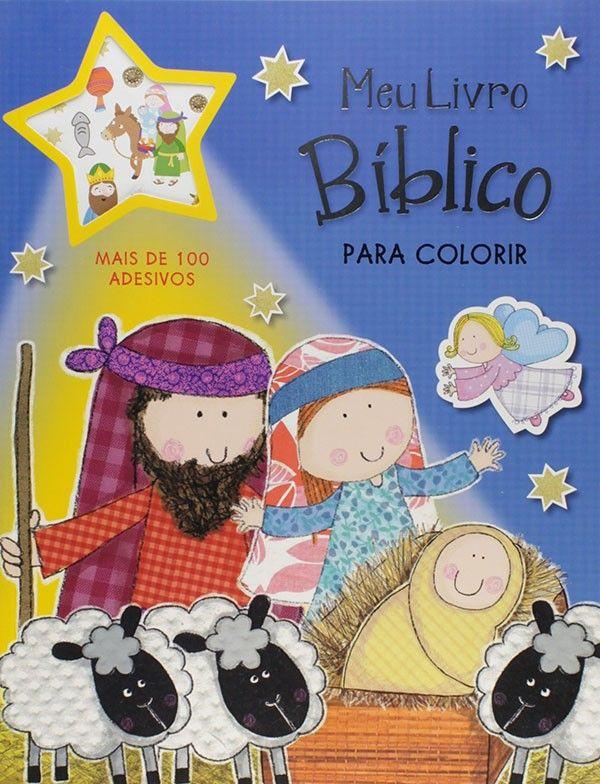 MEU LIVRO BÍBLICO PARA COLORIR