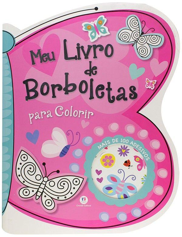 MEU LIVRO DE BORBOLETAS PARA COLORIR