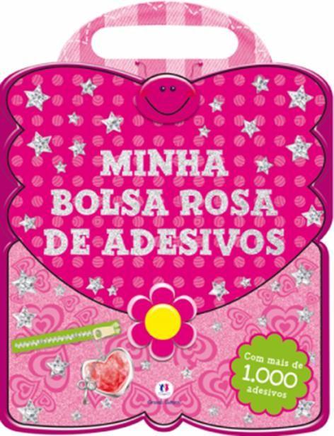 Minha Bolsa Rosa de Adesivos