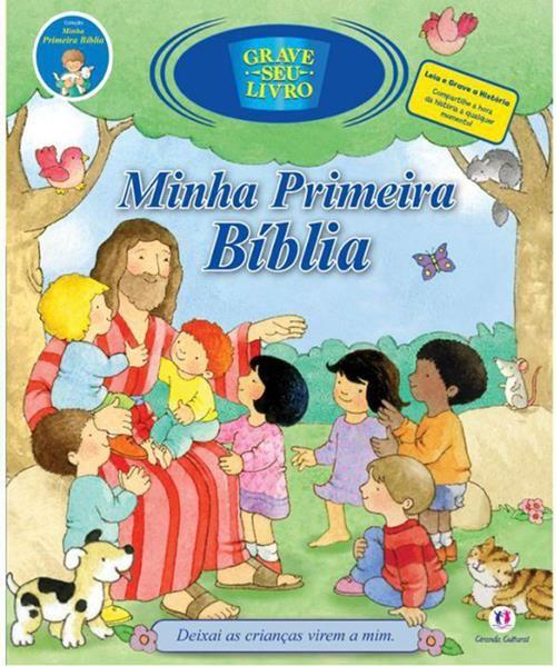 Minha Primeira Bíblia - Livro Sonoro