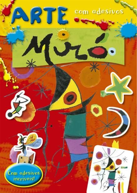 Miró - Coleção Arte com Adesivos - Com Adesivos Incríveis