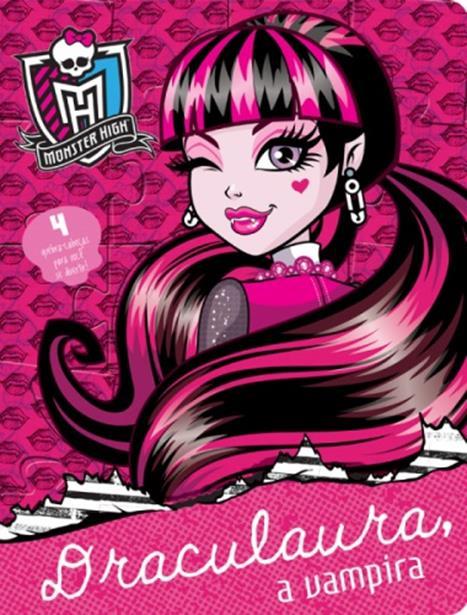 Monster High: Draculaura, a Vampira - Livro Quebra-cabeça