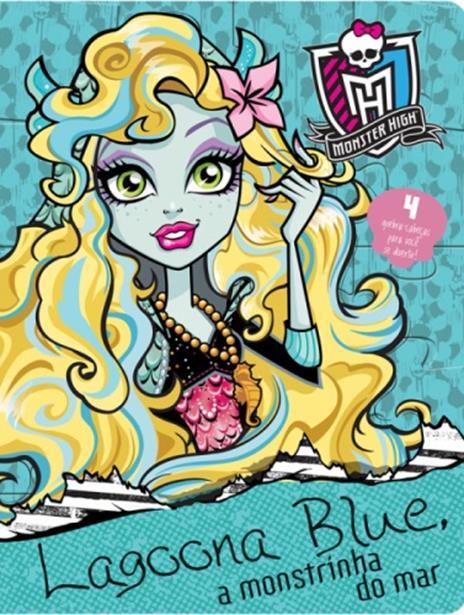 Monster High: Lagoona Blue, a Monstrinha do Amor - Livro Quebra-cabeça