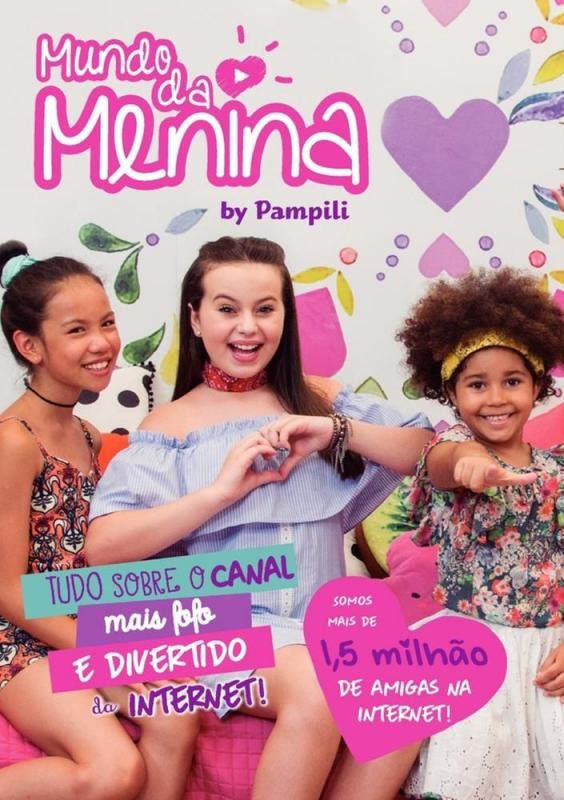 MUNDO DA MENINA BY PAMPILI