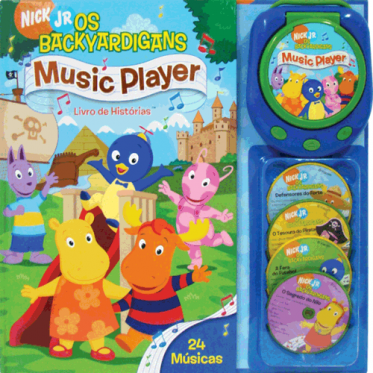 MUSIC PLAYER- BACKYARDIGANS