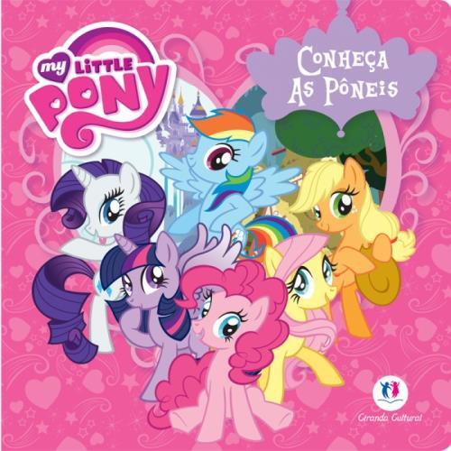 My Little Pony: Conheça as Pôneis - Livro de Banho