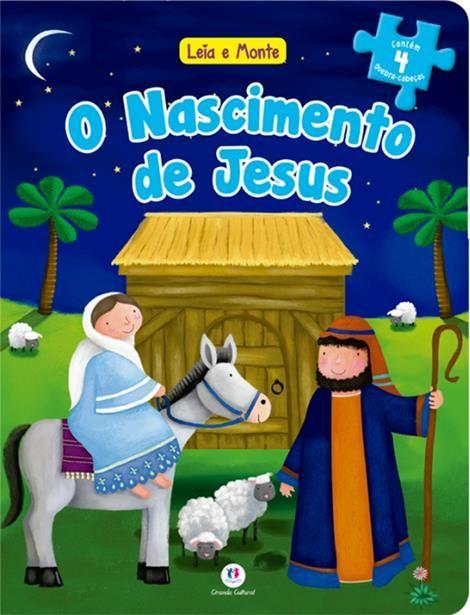 O NASCIMENTO DE JESUS-  LEIA E MONTE