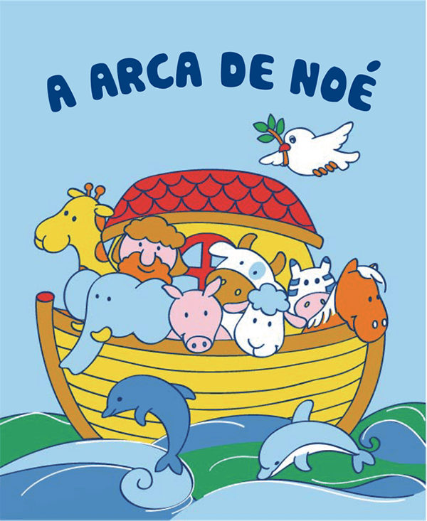 LIVRO DE PANO ARCA DE NOÉ
