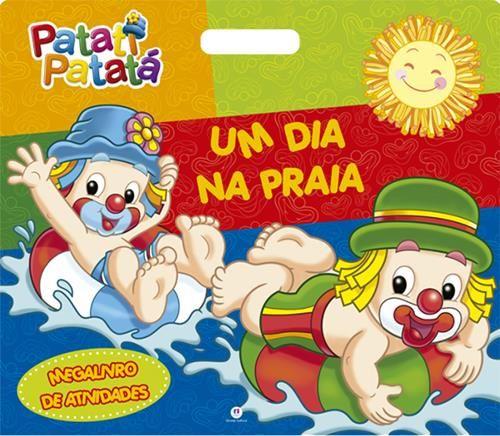 Patati Patata: Um Dia na Praia - Coleção Megalivro de Atividades