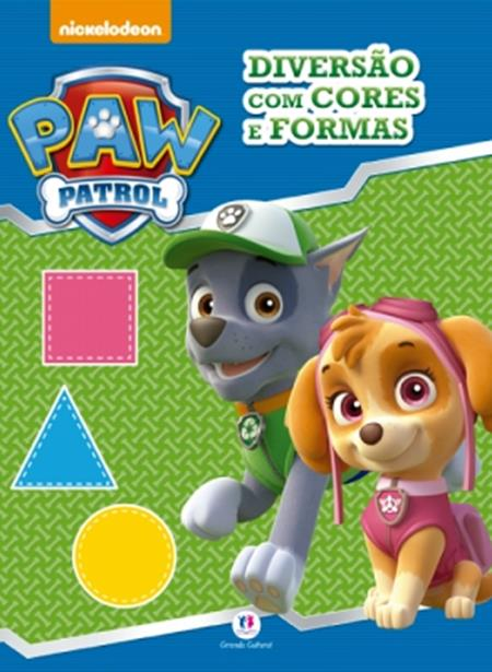 Patrulha Canina: Diversão com Cores e Formas