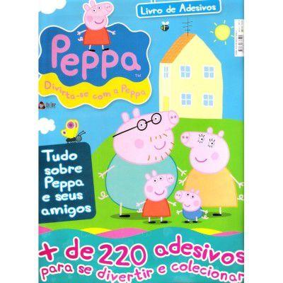 PEPPA - MAIS DE 220 ADESIVOS - ONLINE