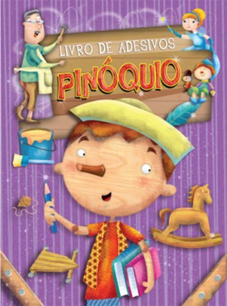 Pinoquio - Coleção Livro de Adesivos