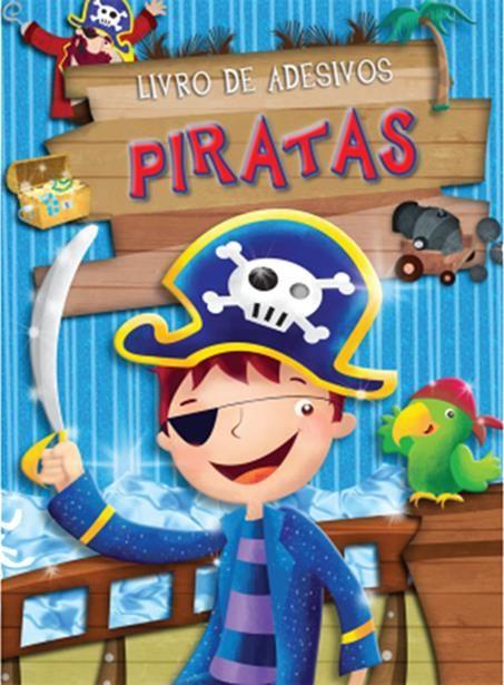 Piratas - Coleção Livro De Adesivos