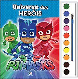 PJ MASKS- UNIVERSO DOS HERÓIS