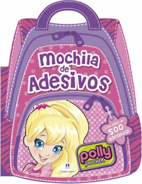 Polly Mochila de Adesivos