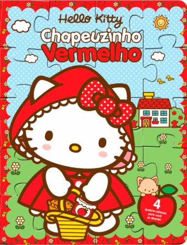 HELLO KITTY- CHAPEUZINHO VERMELHO