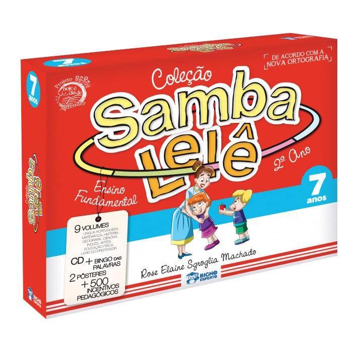 SAMBA LELE - COL. PEDAGÓGICA 7 ANOS - 9 vol + 1 CD + BRINDES