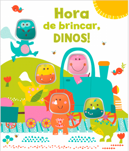 CINCO AMIGUINHOS- HORA DE BRINCAR, DINOS!