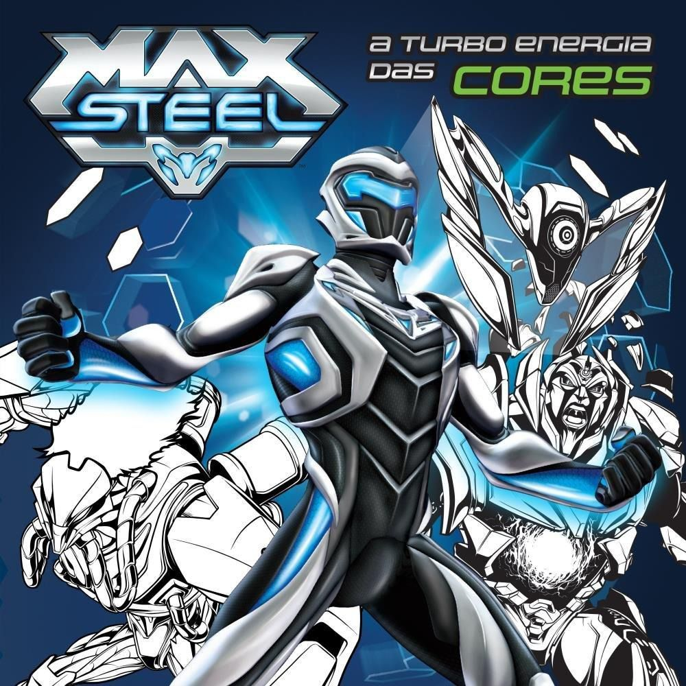 Turbo Energia das Cores Max Steel, A