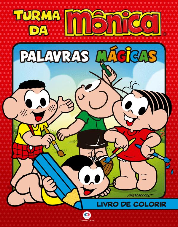 TURMA DA MÔNICA - PALAVRAS MÁGICAS