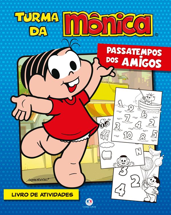 TURMA DA MÔNICA - PASSATEMPO DO AMIGOS